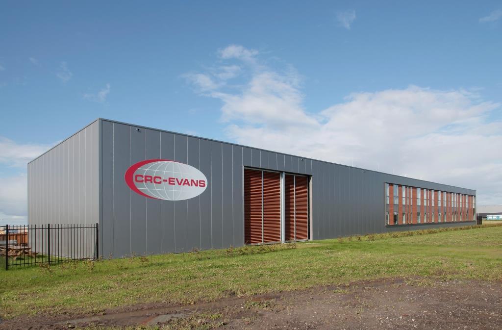 Nieuw bedrijfspand CRC-Evans Zeewolde