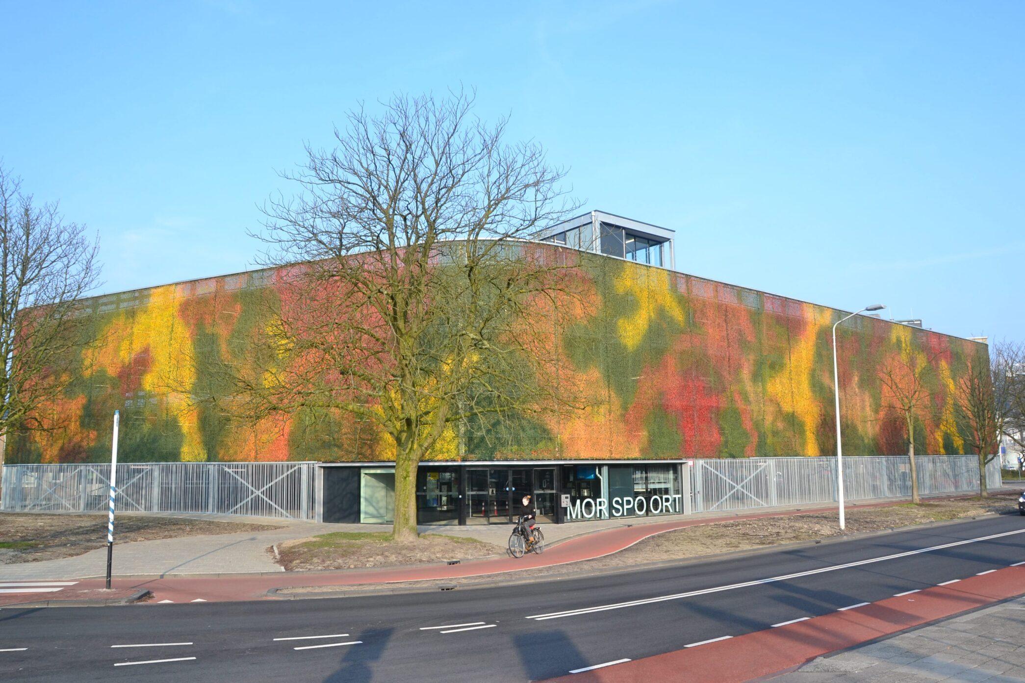 Tijdelijke parkeergarage Morspoort Leiden
