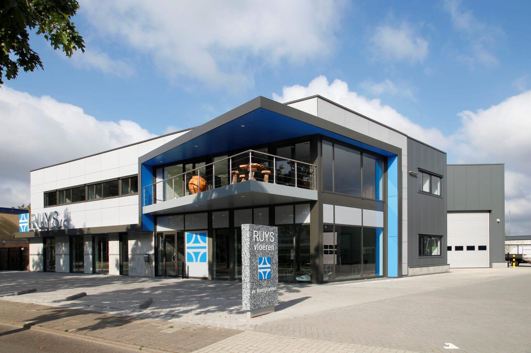 Nieuw bedrijfspand Ruys Vloeren