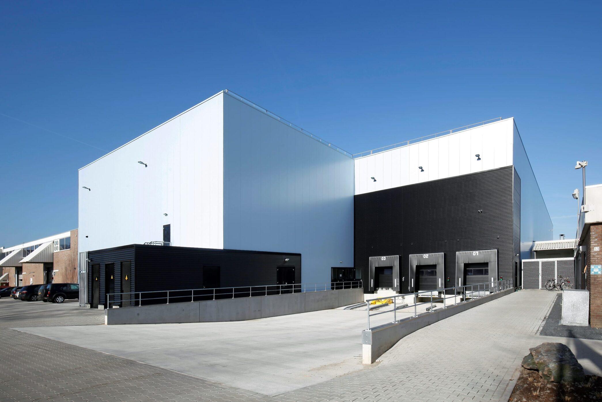 Nieuwbouw bedrijfsruimte Delicia Tilburg