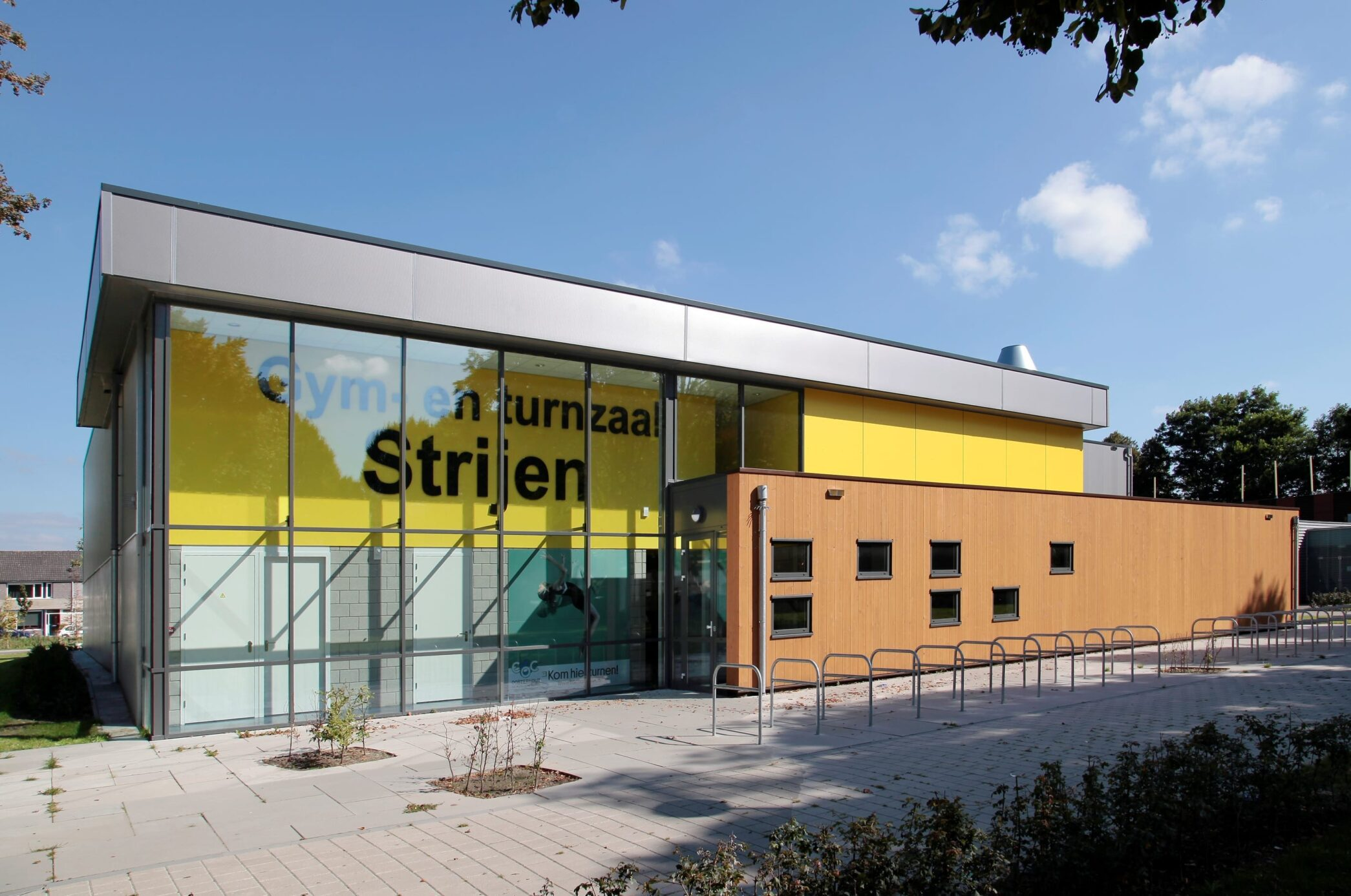 Nieuwe gym-en turnzaal Oosterhout