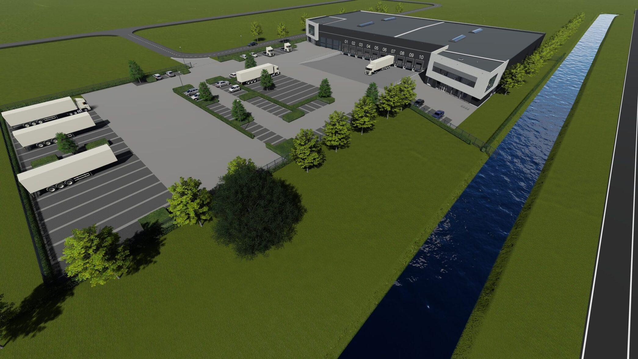 Logistiek centrum Schiphol Logistics Park