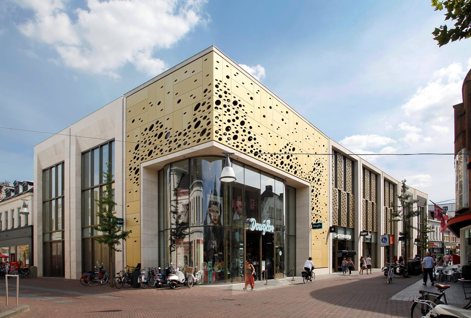 Herontwikkeling Winkelpand Kalanderstraat Enschede
