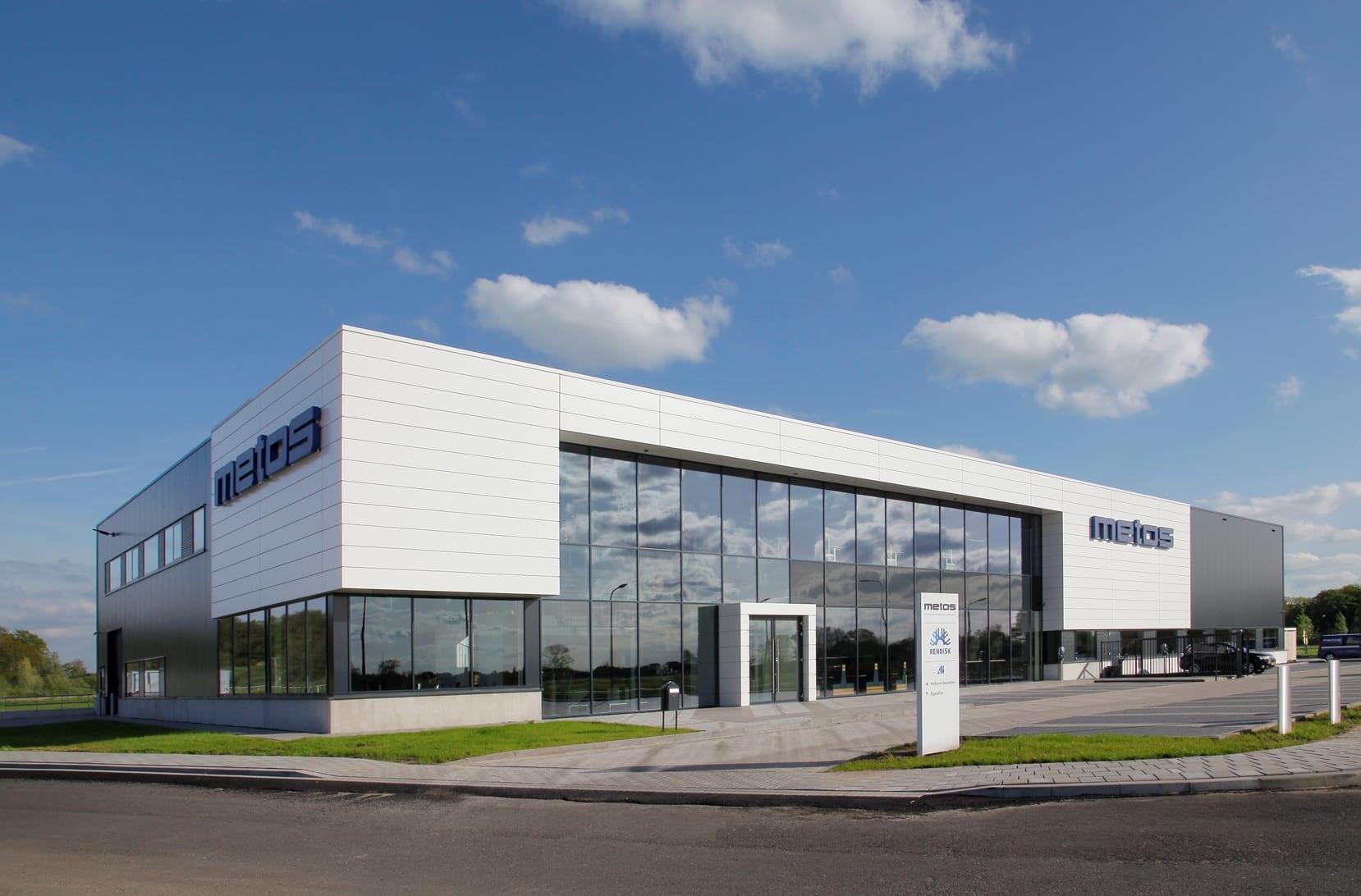 Nieuw bedrijfspand Metos Deventer