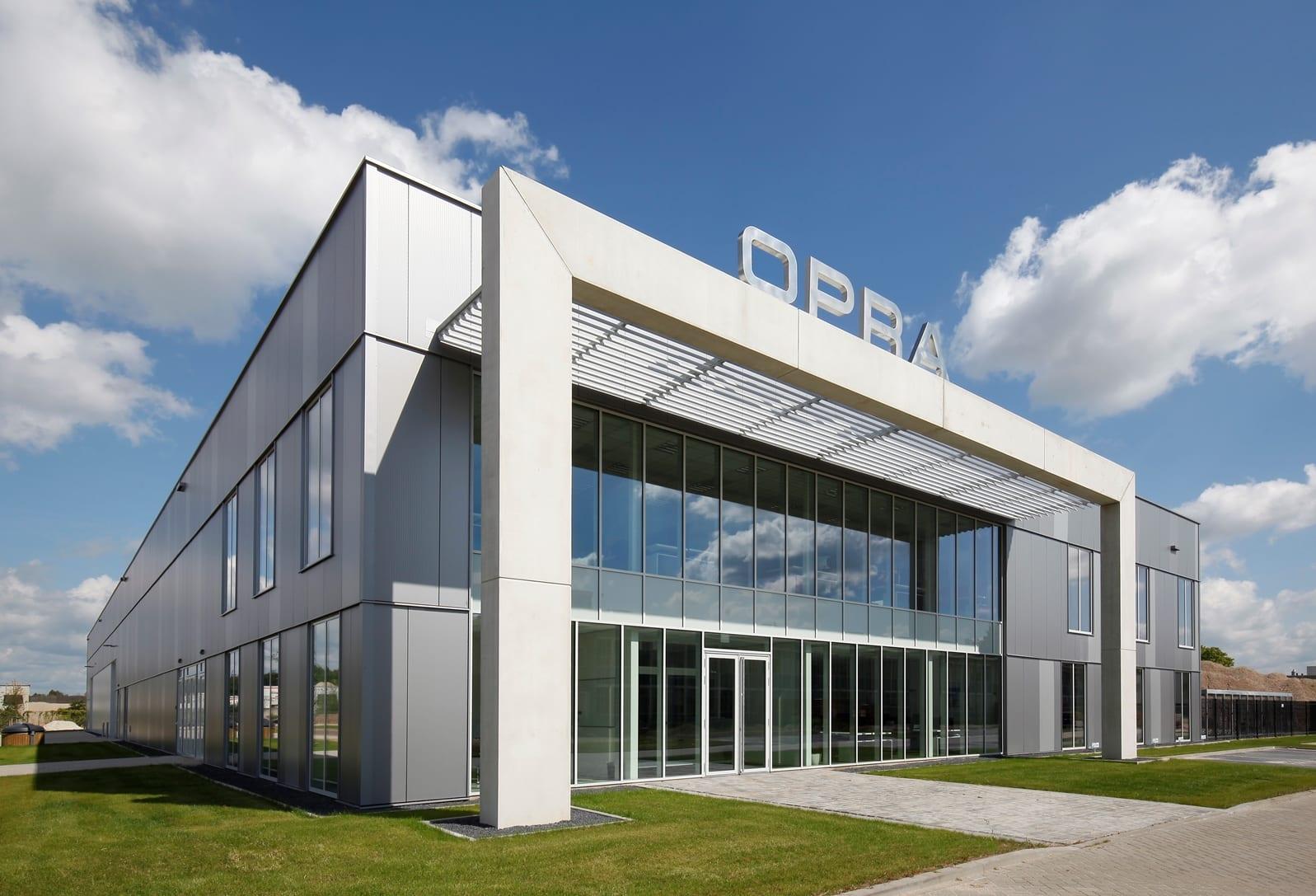 Nieuw bedrijfspand OPRA Turbines Hengelo