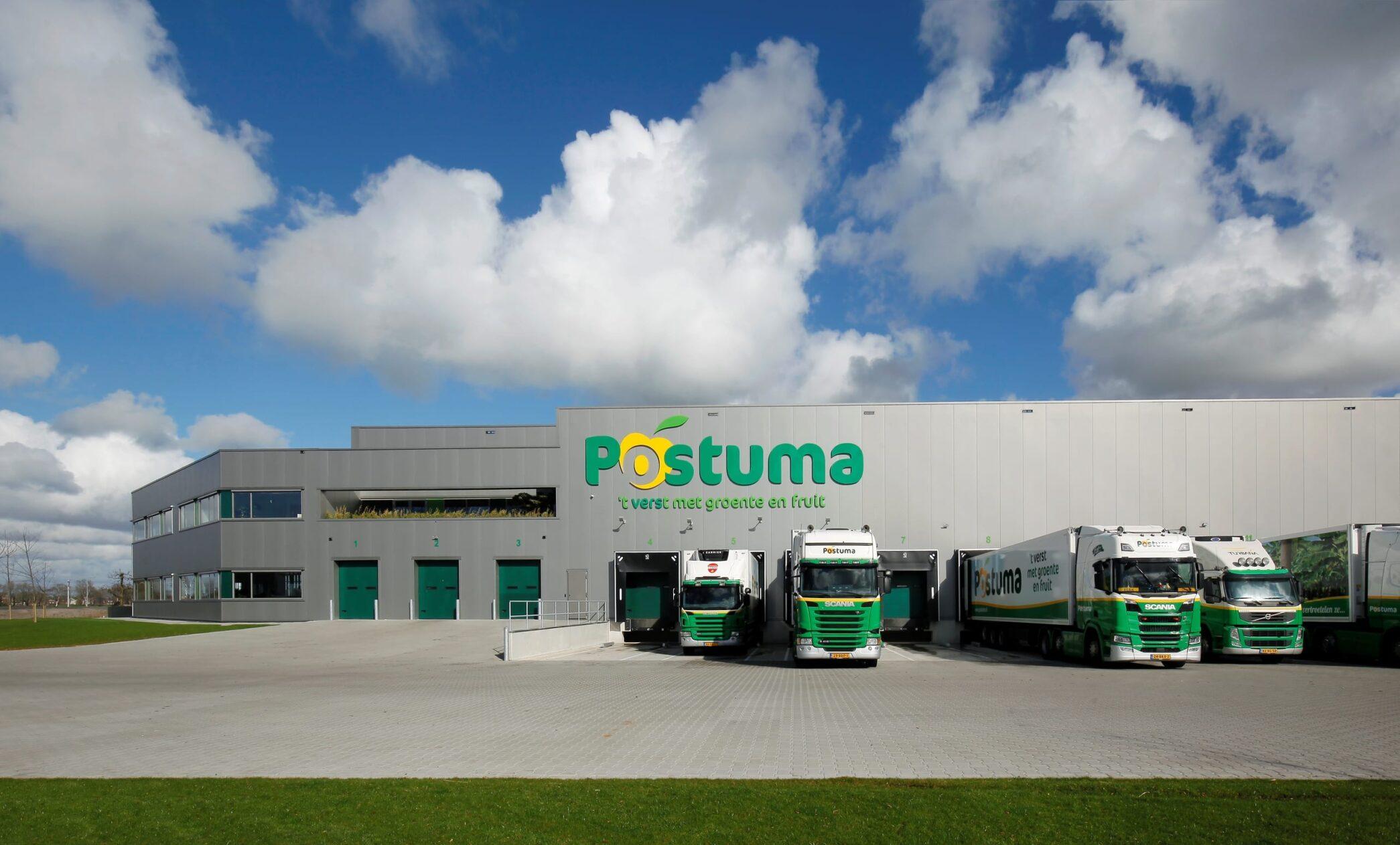 Nieuw bedrijfspand Postuma AGF IJsselmuiden