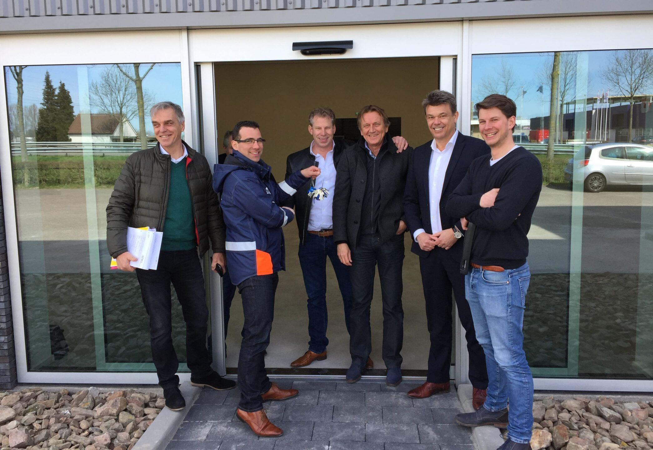 Renovatie bedrijfspand Voltastraat Zwolle