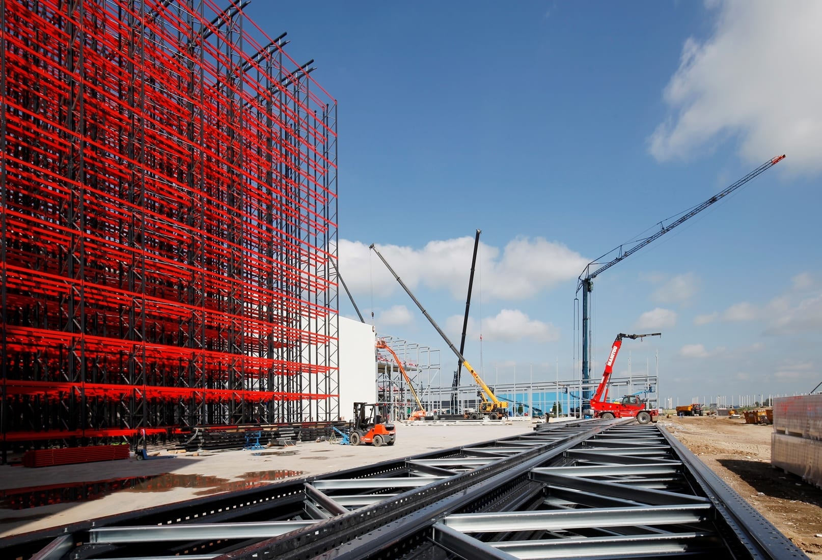 Bouw bedrijfspand Koninklijke Euroma Zwolle