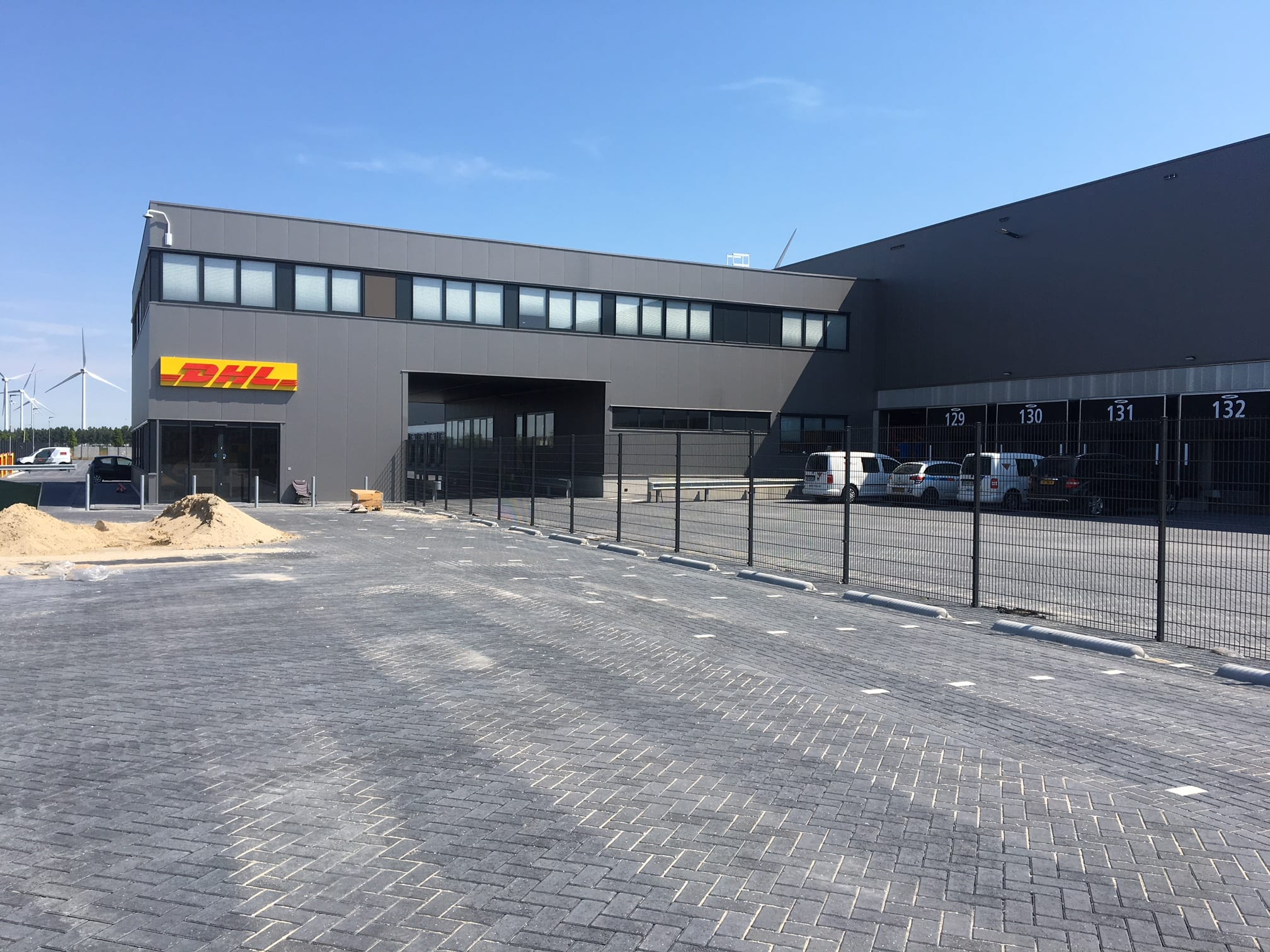 Sorteercentrum DHL Parcel Amsterdam