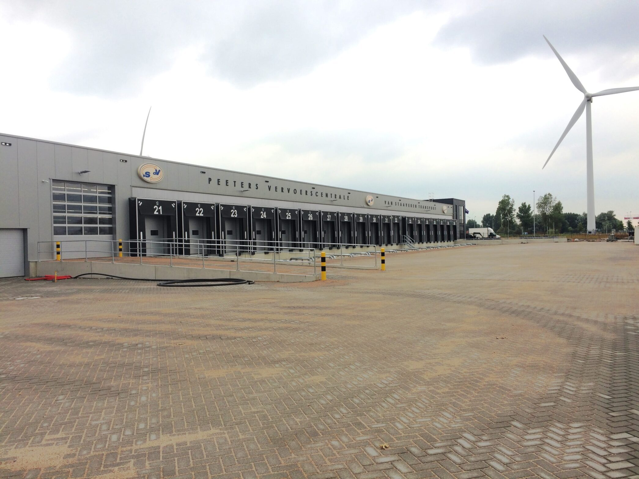 Nieuw crossdock VSDV LogistiX Amsterdam