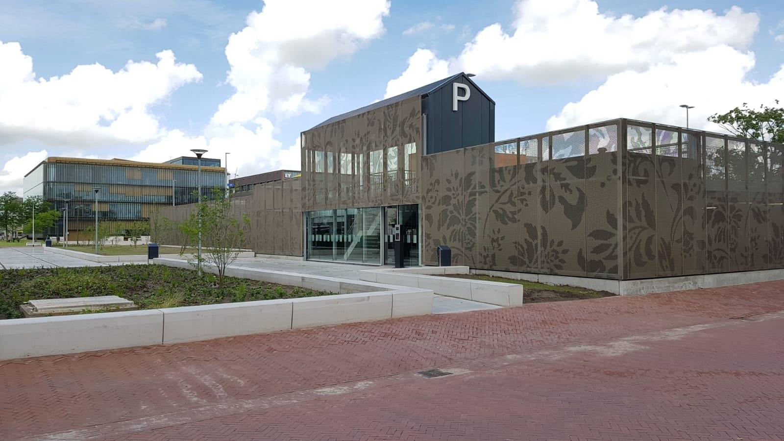 Nieuwe parkeergarage De Revius Leeuwarden