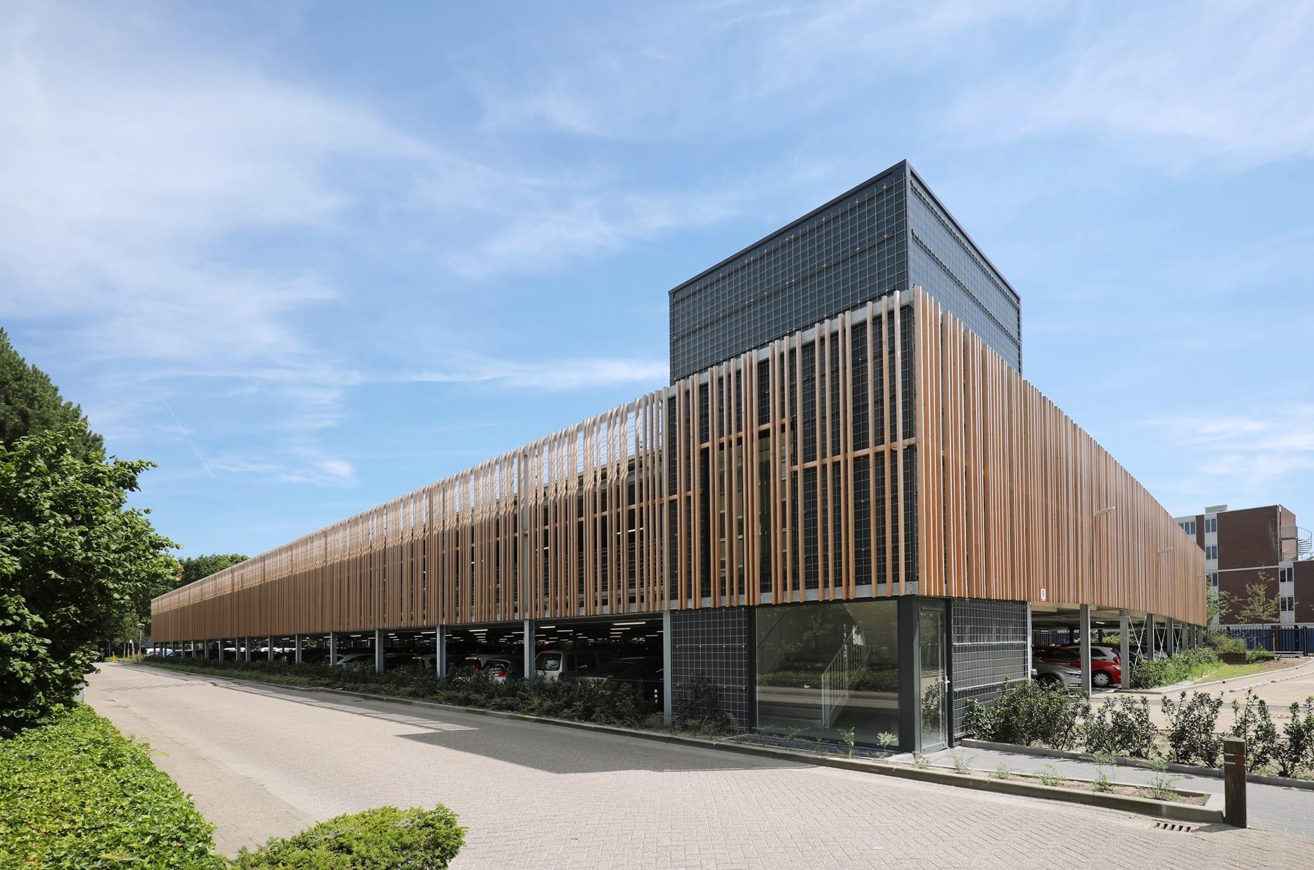 Nieuwe parkeergarage Fontys Rachelsmolen Eindhoven