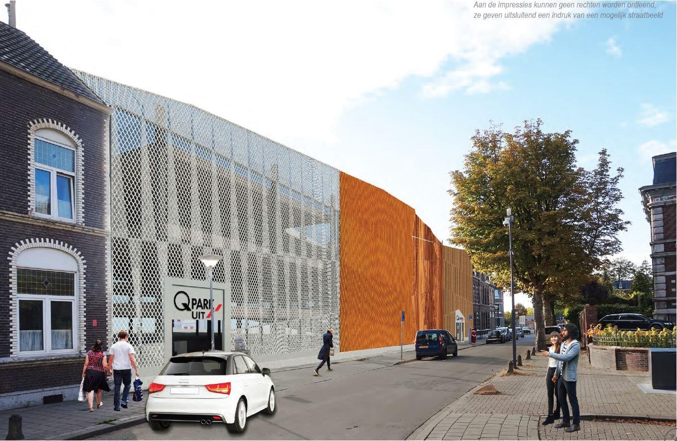 Impressie parkeergarage Blok van Gendt Venlo