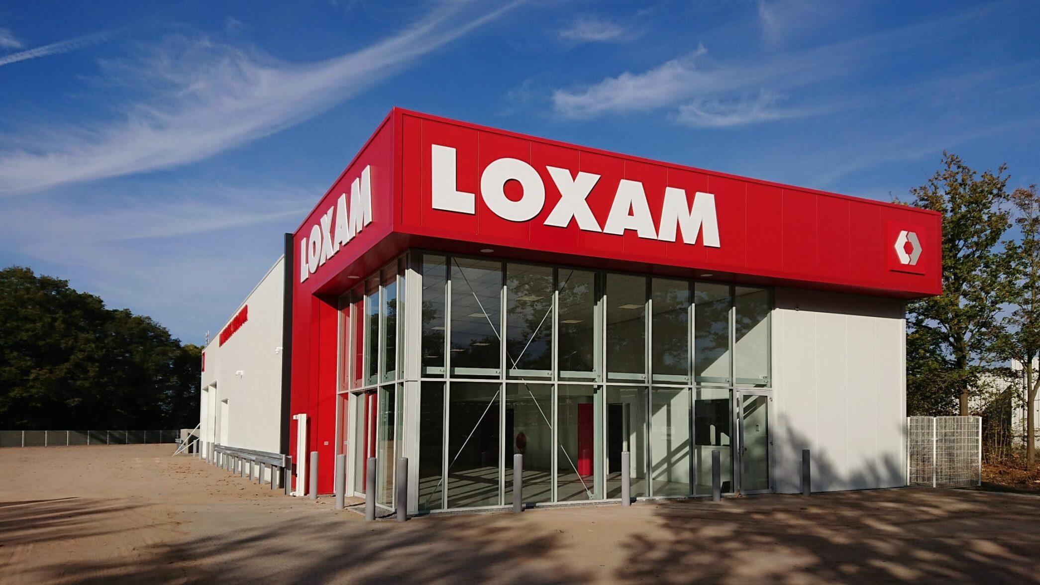 Nieuw bedrijfspand Loxam Enschede
