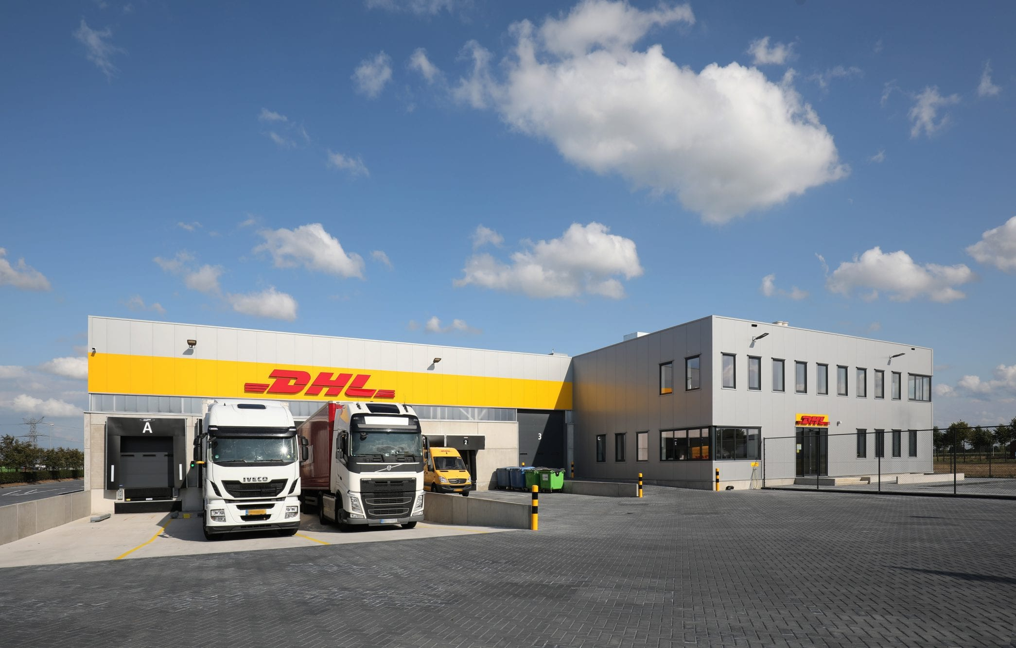 Nieuw sorteercentrum DHL Express Zwolle