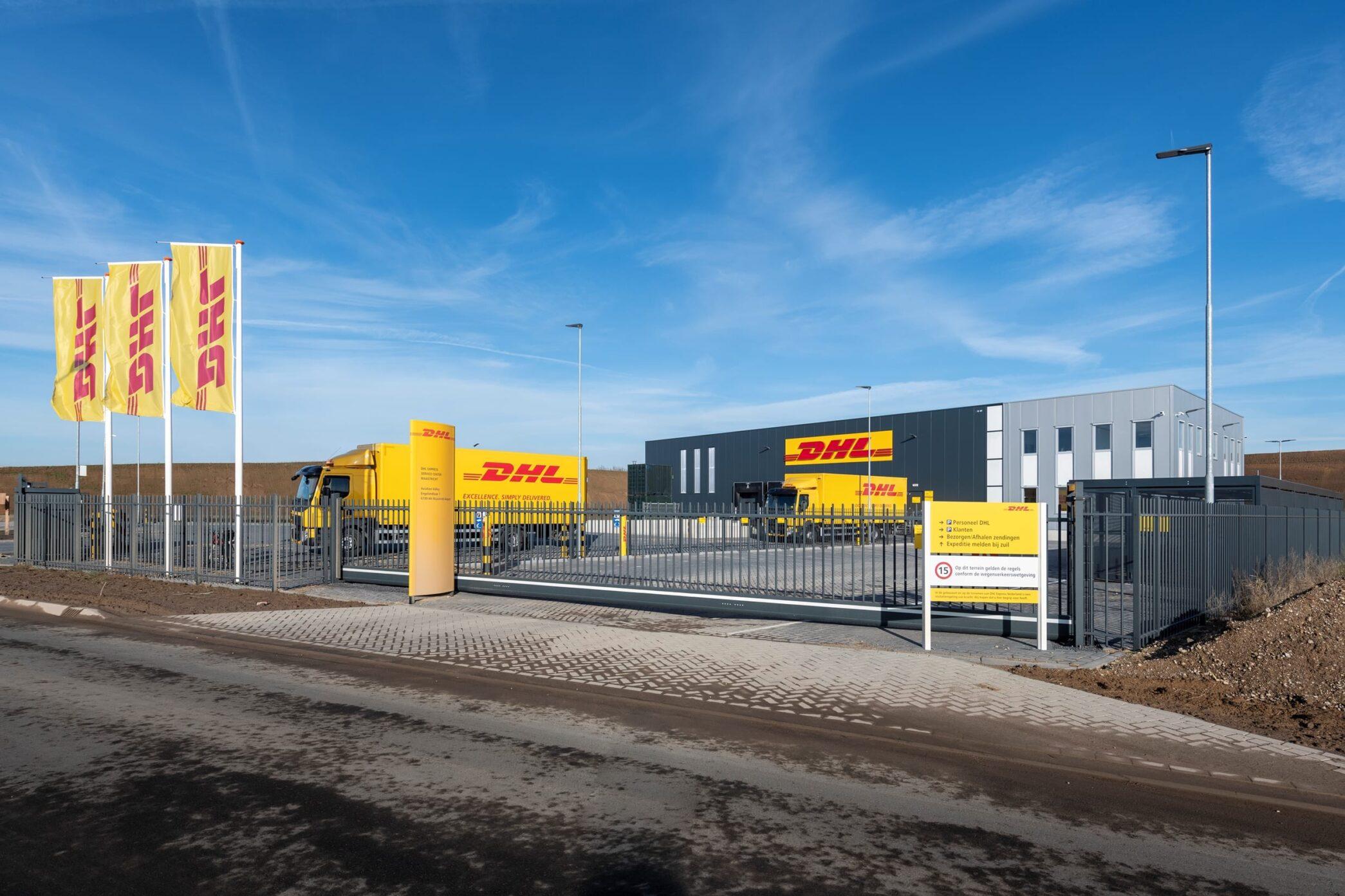 Nieuw Service Center DHL Express Maastricht