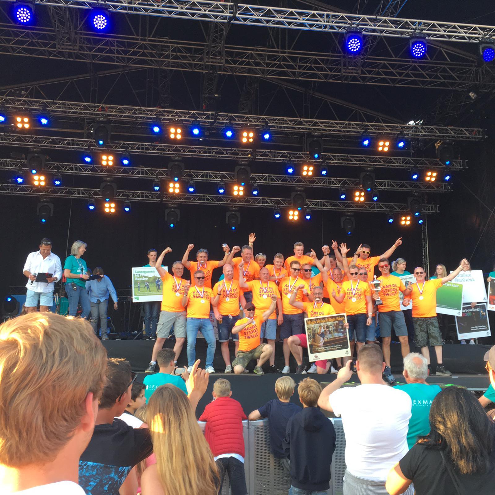 Kampioen Drakenbootrace Apeldoorn