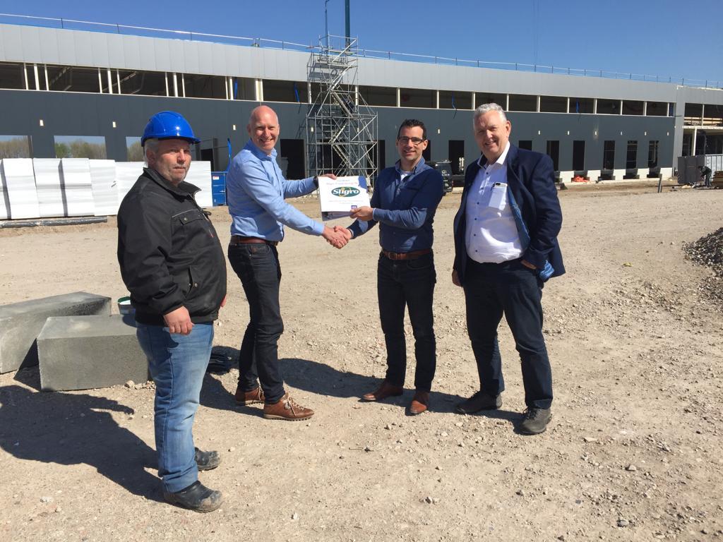 Contractondertekening nieuwbouw distributiecentrum Sligro Maastricht