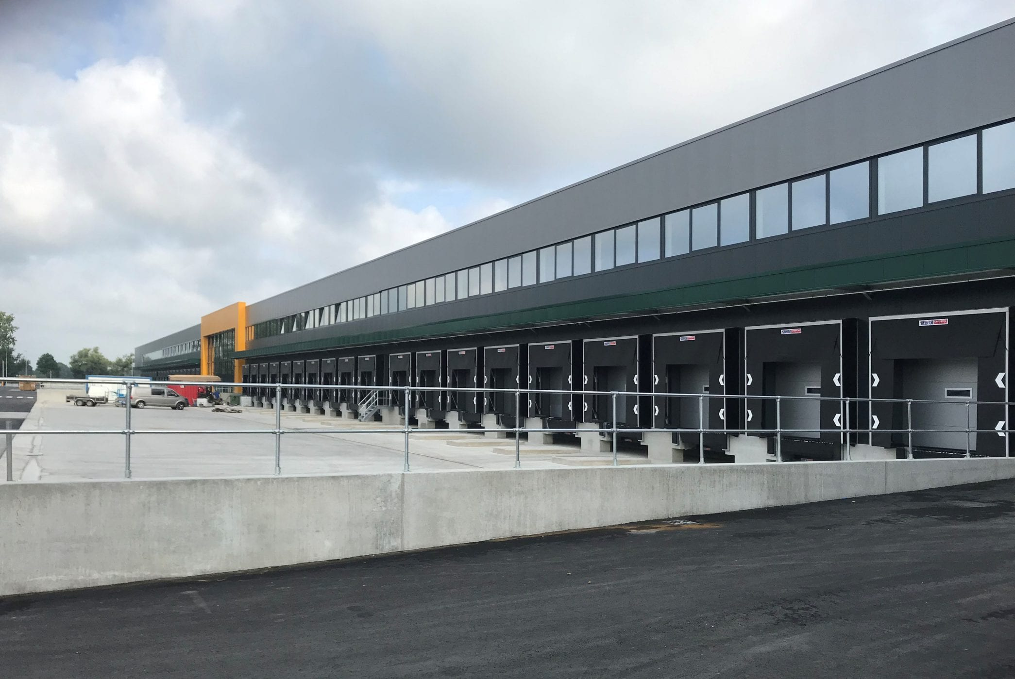 Nieuwbouw distributiecentrum Sligro Deventer
