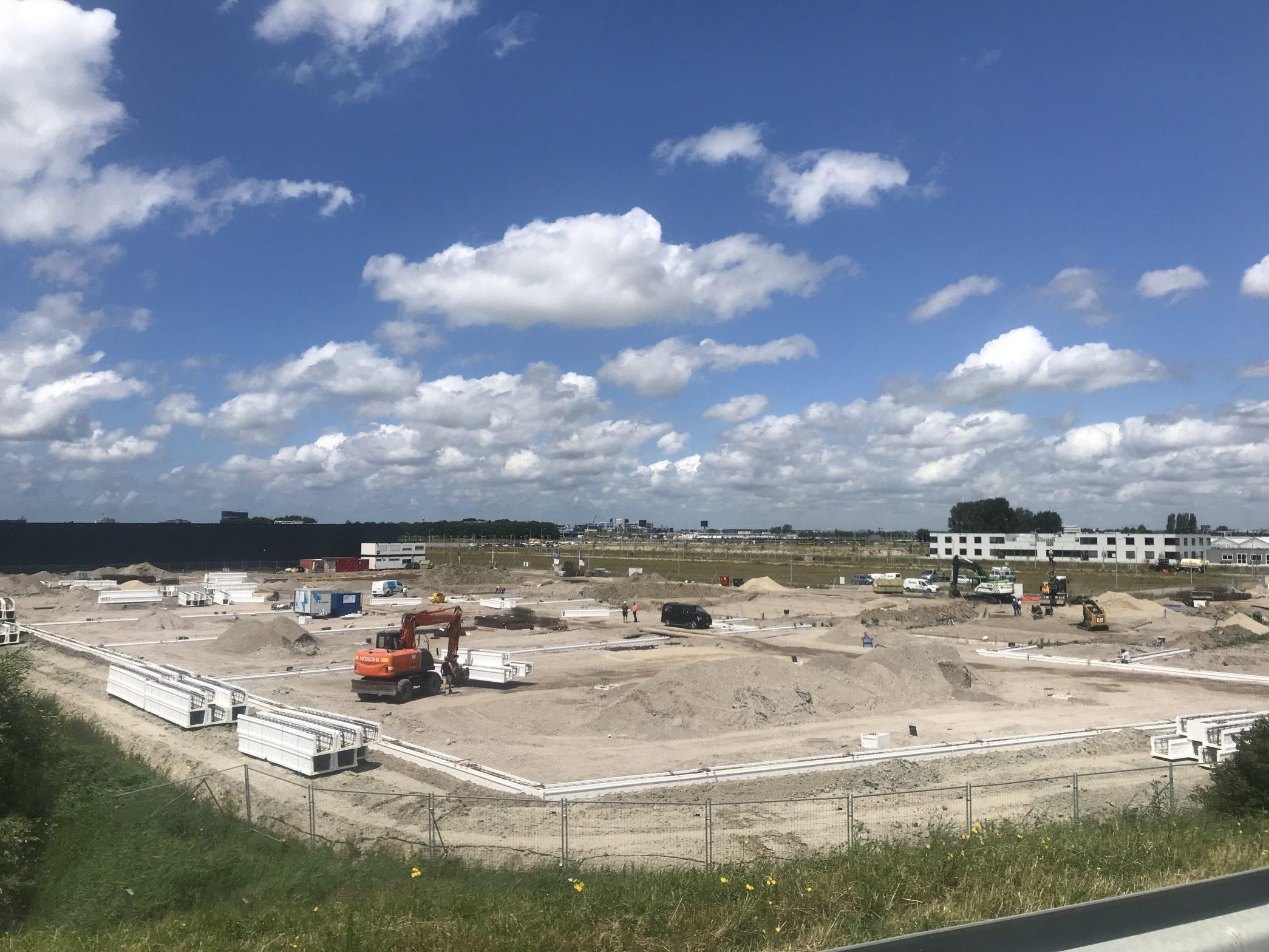 Voortgang bouw distributiecentrum Schiphol Logistics Park II