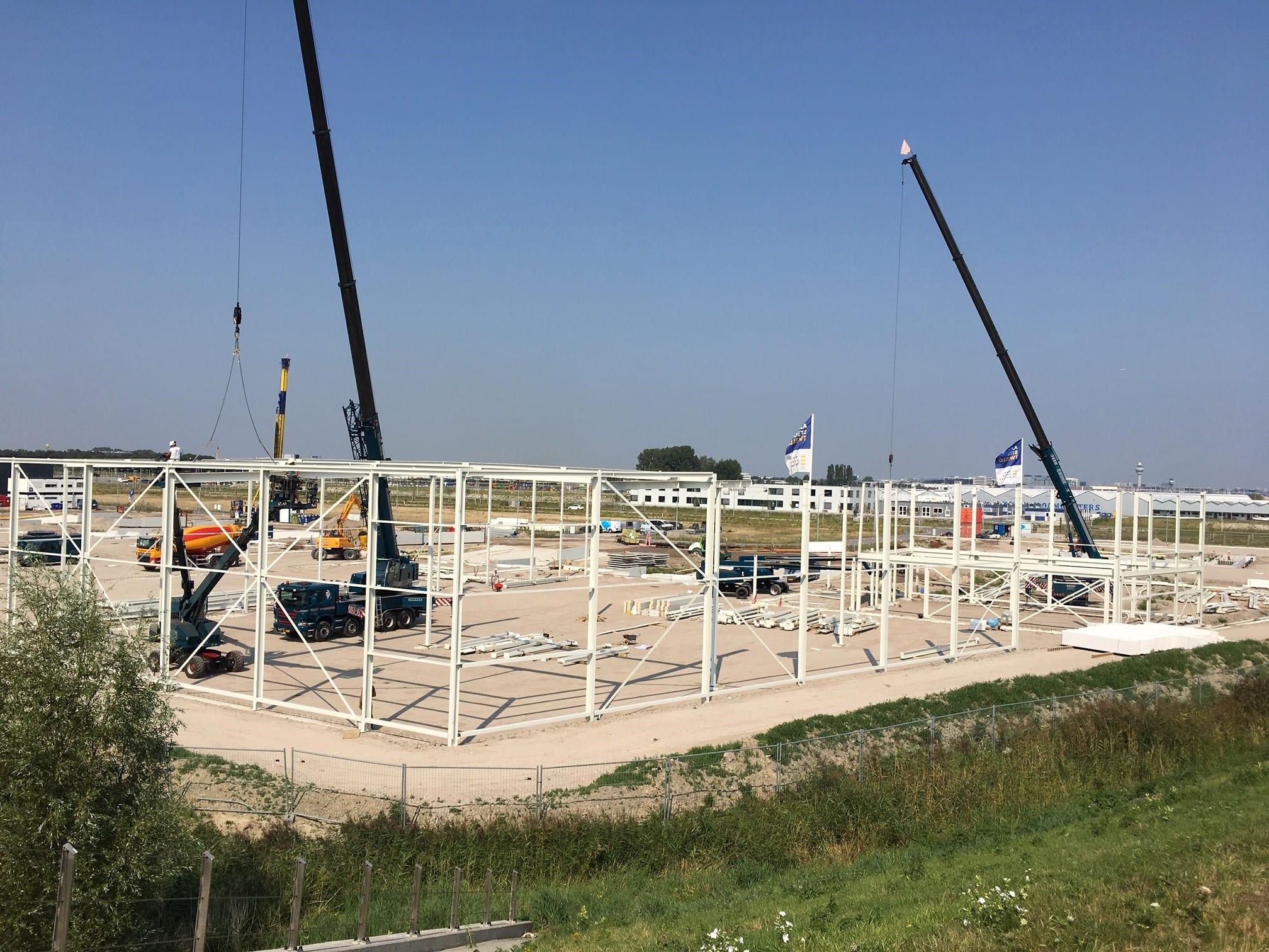 Hoogste punt Schiphol Logistics Park II