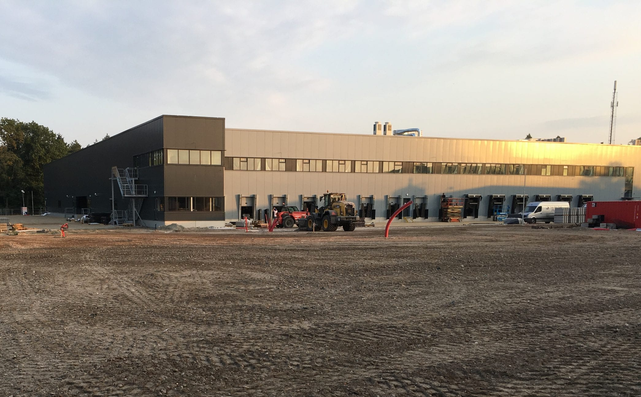 Nieuw pakkettensorteercentrum PostNL Tilburg