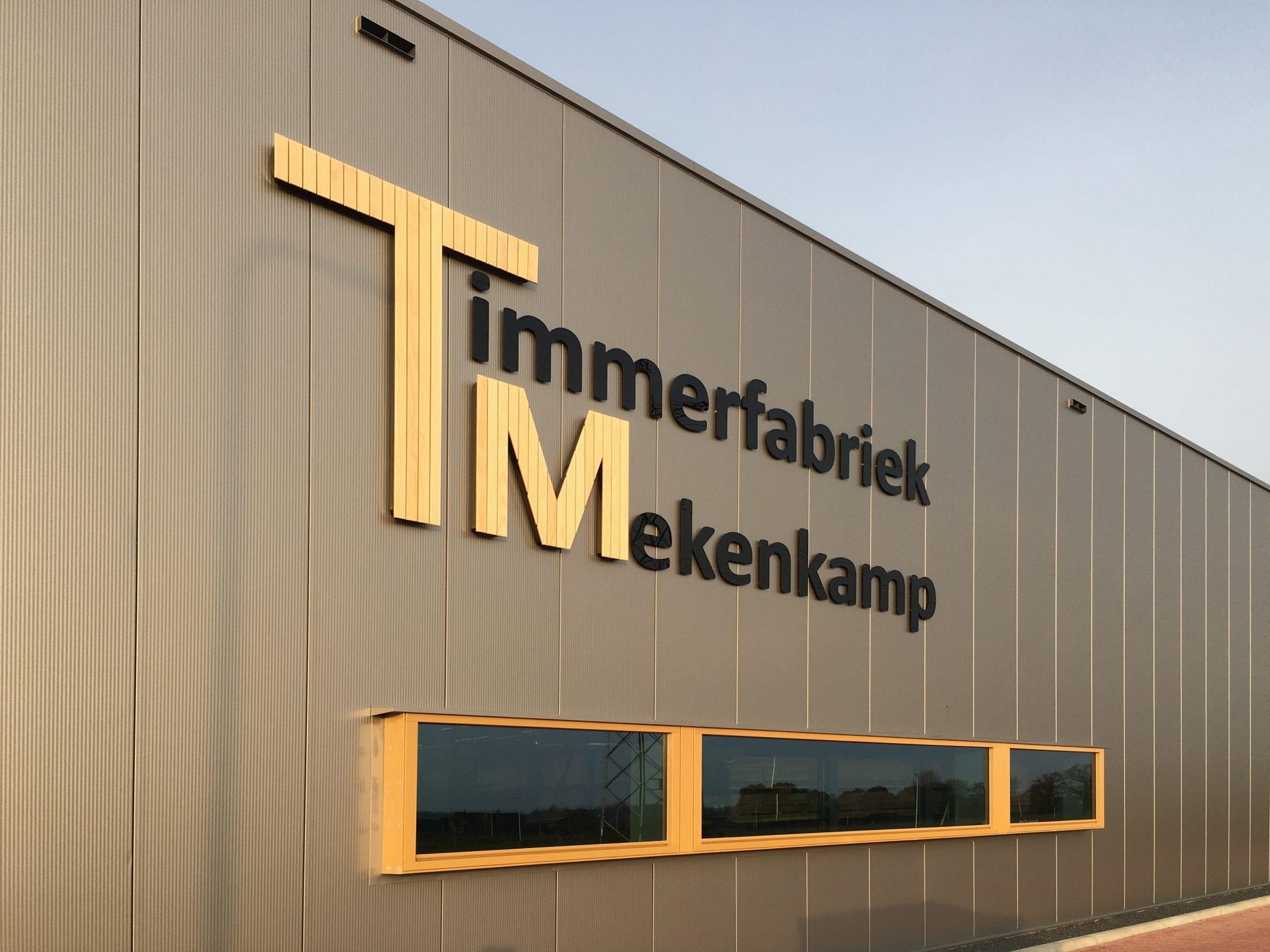 Nieuwe timmerfabriek Mekenkamp Raalte
