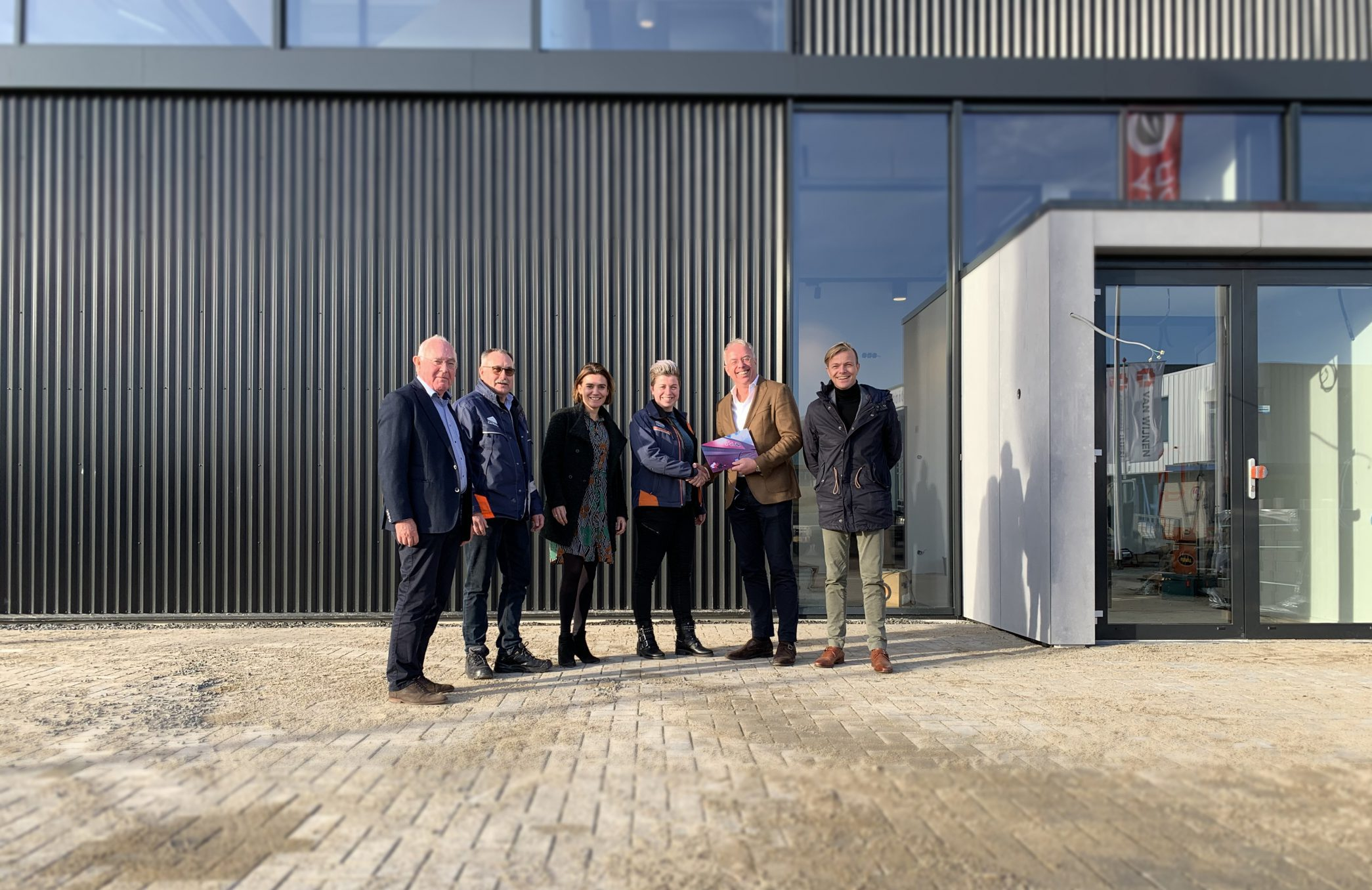 Oplevering bedrijfspand Mocca d'Or Zwolle