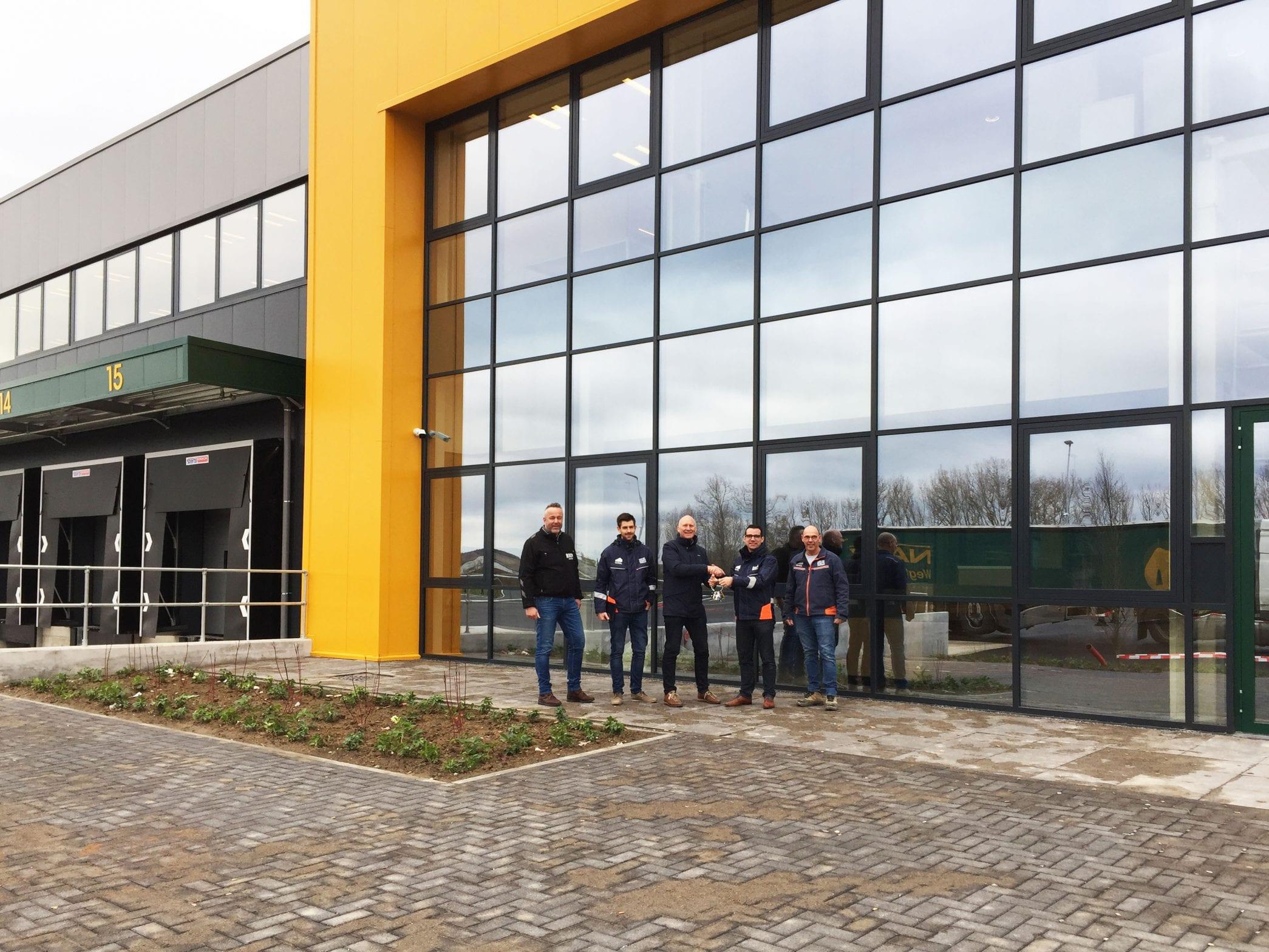 Bezorgservice distributiecentrum Sligro Maastricht opgeleverd